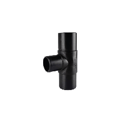 180MM-75MM PN16 HDPE SPIGOT INEGAL TE